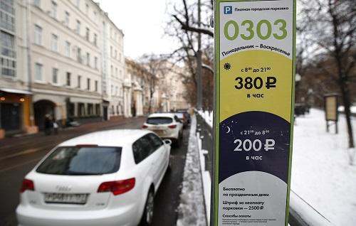 Москвичи активно используют платные парковки