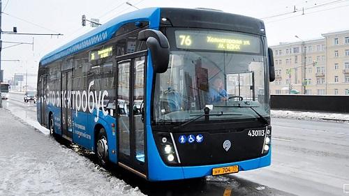 Современные электробусы: с «КАМАЗом» заключено соглашение на 100 единиц