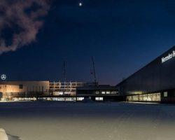 Подмосковные производственные мощности «Mercedes-Benz» запустятся уже в апреле