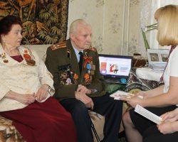 Власти столицы обеспечили ветеранам госуслуги на дому