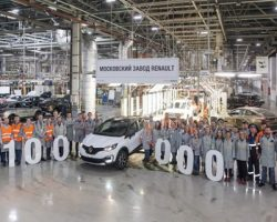 «Renault Kaptur»: в столице выпущен юбилейный «кросс»