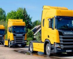 Подмосковный дилер «Scania» сделал крупную поставку для «Траско»