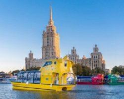 Речные трамваи: в Москве возведут 20 новых причалов