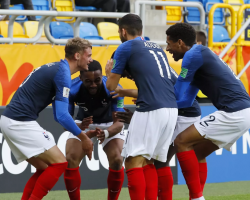 Франция U20 - США U20.  Молодежного Чемпионата Мира 2019