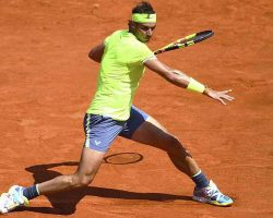 Кей Нисикори – Рафаэль Надаль. 04.06.2019. Теннис. Roland Garros. 1/4 финала