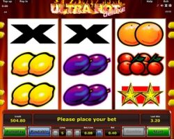Игровой слот Ultra Hot Deluxe от Новоматик