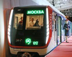 Московский метрополитен пополняется поездами новой генерации