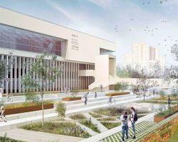 Рядом с библиотекой ИНИОН появится общественный парк