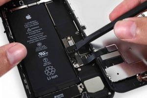 замена аккумулятора айфон 7
