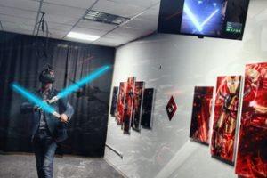 открытие VR-клуба