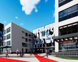 В северной части столицы построят школу в авангардной стилистике