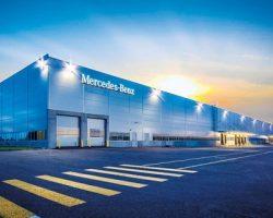 Подмосковный  завод выдал почти 850 седанов «Mercedes-Benz»