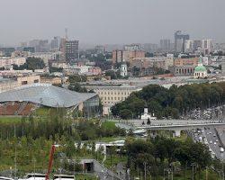 Сервис парка «Зарядье» использовало уже 23 миллиона посетителей