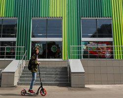 В Новой Москве запущен еще один сервисный кикшеринг