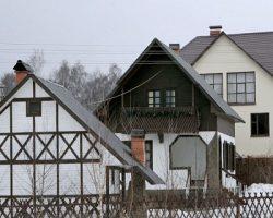 Загородный формат жилья: Новая Москва проигрывает Подмосковью