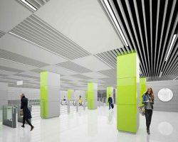 Станция «Коммунарка» будет гармонировать с парковыми территориями