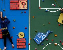 Скалодром и площадка футбольного фристайла временно  появятся в «Москва-Сити»