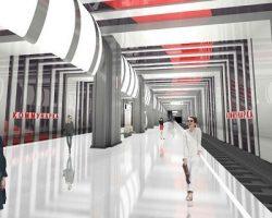 Коммунарская ветка: вторая станция будет построена в стилистике «супрематизм»