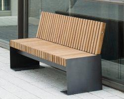 Парковые скамейки: комфорт и дизайн