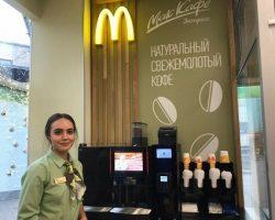 «Сбербанк» запустил первый  «McDonald's» в своем столичном отделении