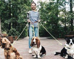 Стартап «Собака-гуляка» запустил в Москве «Цап-царап»