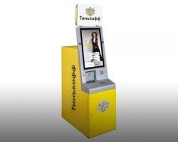 В Москве установлен первый инновационный банкомат от «Тинькофф»