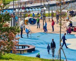 Столичные парки: названы лидеры благоустройства зеленых зон