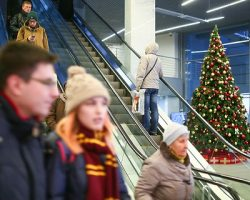 Подсчитана активность пользователей метро и МЦК в канун Рождества