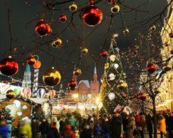 Новогодние гуляния: в столице подсчитана активность граждан