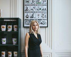 Анна Цфасман запустила в столице первую кофейню сети «Flip»