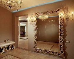 Как преобразить гостиную зеркалами