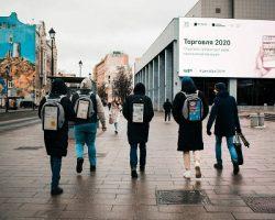 Стартап «BackAd» развивает «мобильные билборды»