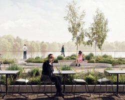 На Химкинском водохранилище появится современный ландшафтный парк
