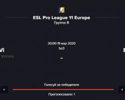 Прогноз на матч Natus Vincere (Na'Vi) Vs. BIG (BIG ) | 19.03 от ForExample