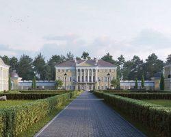Инвестор нацелен  восстановить историческую «Усадьбу Гребнево»