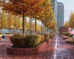 Сокольническая площадь: москвичи определились с проектом сервисного благоустройства