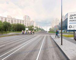 Система мини-площадей появится на Ленинском проспекте