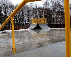 В столице появился сборный скейт-парк
