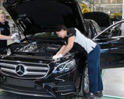 Подмосковный завод «Mercedes-Benz» постепенно возобновляет производство