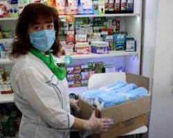 Подмосковные госаптеки получили более миллиона медицинских масок