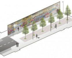 На Арбате проведут благоустройство «Стены Цоя» и прилегающего пространства