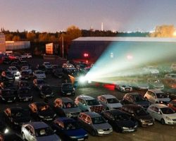 Автокинотеатр в Москве начнет работать 18 июля