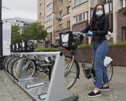 Сервис велопроката: столичные пользователи совершили 1.3 миллион июньских поездок