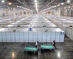 Часть выставочного сервиса «Крокус Экспо» в МО будет открыта уже сегодня