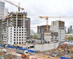 Ввод жилья в Москве: за 8 месяцев выполнен почти годовой план