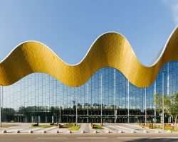 Гимнастический Дворец в Лужниках получил строительный «Оскар»
