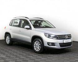 «Tiguan» стала бестселлером на вторичном рынке SUV в Москве