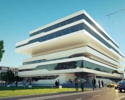Здание по проекту Хадид продадут в Москве