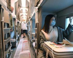 В Москве показан прототип инновационного плацкартного вагона