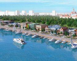 Аттракционы и плавучий сад появятся на набережной ЮРВ